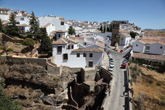 Old town of Ronda, Andalusia Spain Royalty Free Stock Images