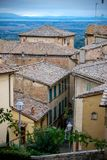 Old town rooftops in Italy. Europe Royalty Free Stock Photos