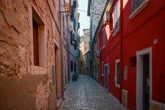 Old town in Rovinj Croatia Royalty Free Stock Photos