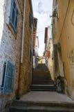 Old town in Rovinj Croatia Stock Photos