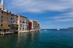 Old town of Rovinj Royalty Free Stock Image