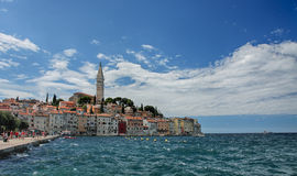 Old town Rovinj in Croatia in the summer day Royalty Free Stock Image
