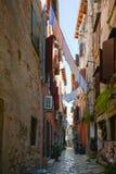 Old town in Rovinj Croatia Stock Photography