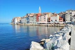 Rovinj,Istria,adriatic Sea,Croatia. Old Town of Rovinj in Istria at adriatic Sea,Croatia stock images