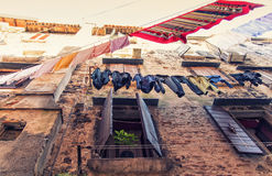 Old town in Rovinj, Istria, Croatia Stock Images