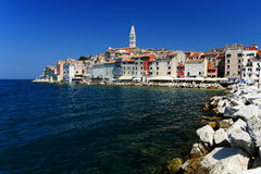 Old town of Rovinj on Istrian peninsula, Croatia Stock Photo