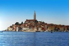 Old town of Rovinj on Istrian peninsula, Croatia Stock Photos