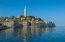 Old town of Rovinj, Istrian Peninsula, Croatia. Ancient town of Rovinj, Istrian Peninsula, Croatia royalty free stock photography