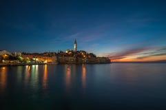Old town of Rovinj, Istrian Peninsula, Croatia. Beautiful old town of Rovinj, Istrian Peninsula, Croatia royalty free stock image