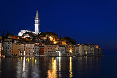 Old town of Rovinj on Istrian peninsula, Croatia Stock Images