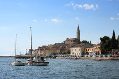 Old town Rovinj in the summer day in Croatia Royalty Free Stock Photos