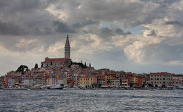 Old town Rovinj in the summer day in Croatia Royalty Free Stock Photography