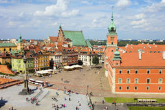 Old Town and Royal Castle Royalty Free Stock Photography