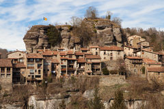 Old town of Rupit Royalty Free Stock Photo