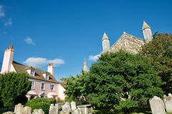 Country town of Rye royalty free stock photography