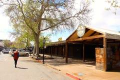 Old town Sacramento California USA. On a cracking bluebird day stock photo