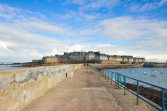 Old town of  Saint Malo, France Stock Image