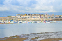 Old town of  Saint Malo, France Stock Photography