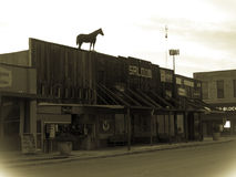Old town Saloon Royalty Free Stock Photography