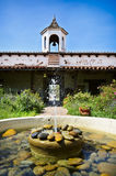 Old Town, San Diego. Casa Estudillo, an  adobe hacienda built in 1827, which is now a museum in Old Town San Diego State Historic Park, was the home of an Royalty Free Stock Photo