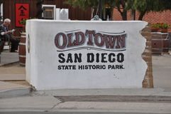 Old Town in San Diego, California Royalty Free Stock Photography