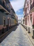 Old town San Juan, Puerto Rico. stock photography