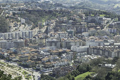 Old Town San Sebastian Stock Image