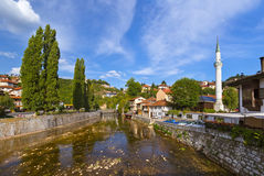 Old town Sarajevo - Bosnia and Herzegovina Royalty Free Stock Image