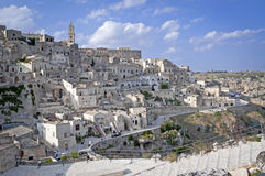 The old town of Sassi Stock Image