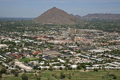Old Town Scottsdale, Arizona Royalty Free Stock Photography