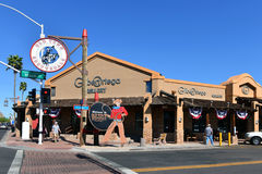 Old Town Scottsdale royalty free stock photography