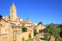 Old town of Segovia Royalty Free Stock Photos