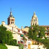 Old town in Segovia Stock Photo