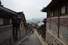 Korean Old town Royalty Free Stock Photo