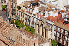 Old Town of Seville in Spain Royalty Free Stock Photography