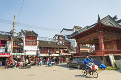 Old town of shanghai china Stock Photography