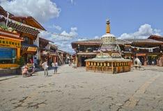Old town of Shangri-la Royalty Free Stock Image
