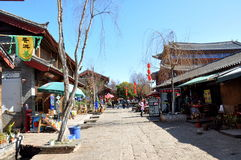 Old Town of Shuhe Stock Photo