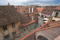 Old town Sibiu Stock Photos
