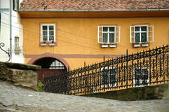 Old town of Sighisoara city, Romania Royalty Free Stock Photo