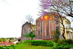 Old town sight,Plovdiv Royalty Free Stock Photos