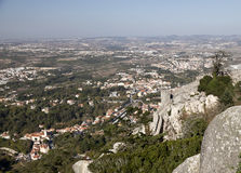 Old town of Sintra Stock Images