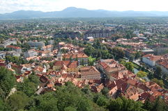 Old town in Slovenia Royalty Free Stock Image