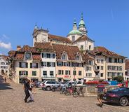 Old town of Solothurn, Switzerland Royalty Free Stock Photo