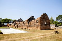 Old Town. Somdet Phra Narai National Museum in Lopburi, Thailand Royalty Free Stock Images