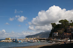 The old town of Sorrento Royalty Free Stock Images