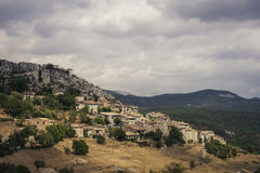 Old town in southern France. Old town in the south of France Stock Images
