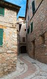 Old town of Spello in Umbria Royalty Free Stock Photos