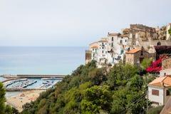 Old town of Sperlonga, Lazio, Italy Royalty Free Stock Image