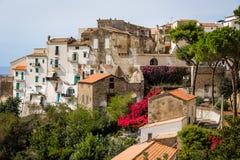 Old town of Sperlonga, Lazio, Italy Royalty Free Stock Images